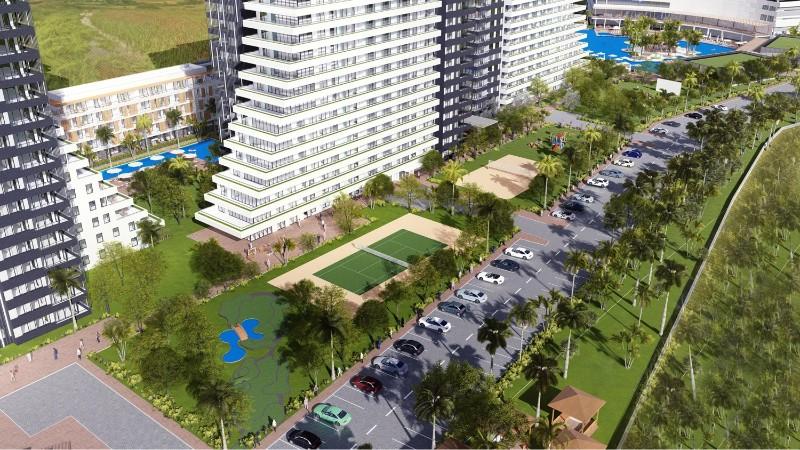Kıbrıs İskele'de Denize 450 metre Kendi Casinosu, Su Kaydıraklı Kıbrıs'ın En Büyük Havuzuna Sahip Ultra Lüks 2+1 Rezidans