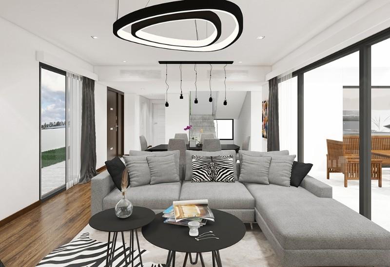 Kıbrıs Girne Çatalköy'de Denize Yakın 3+1 Modern Lüks Dubleks Villa