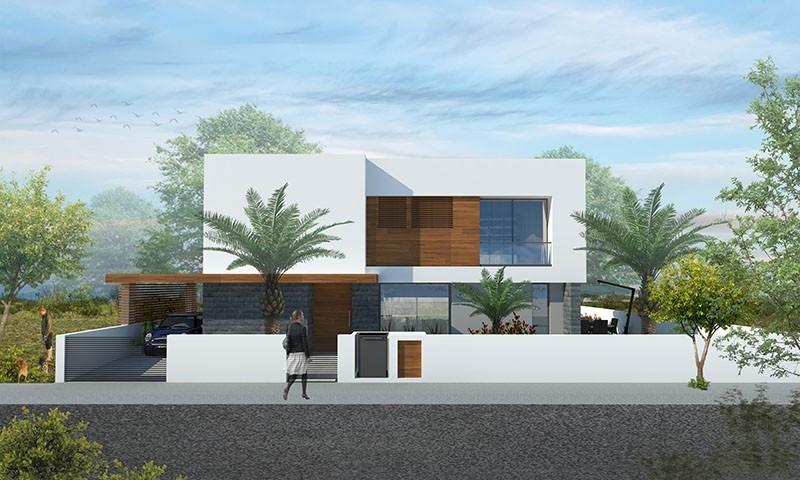 Kıbrıs Girne Çatalköy'de Denize Yakın 4+1 Geniş Bahçeli Lüks Dubleks Villa