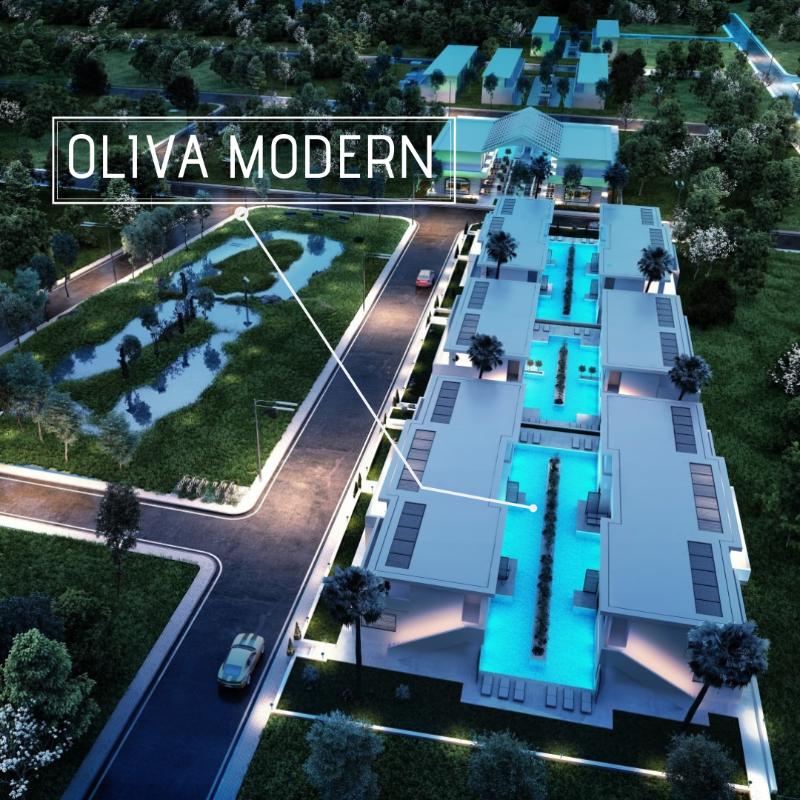 Didim'de Satılık Villa Projesi Ruhsatı Çıkmış İnşaata Hazır Havuzlu Villalar