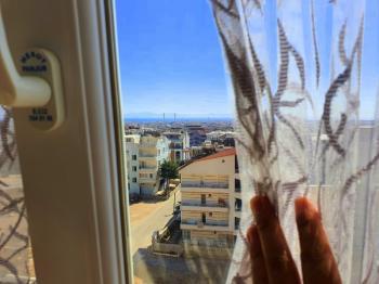 Didim Hisar'da Satılık Deniz Manzaralı Teraslı Dubleks Daire