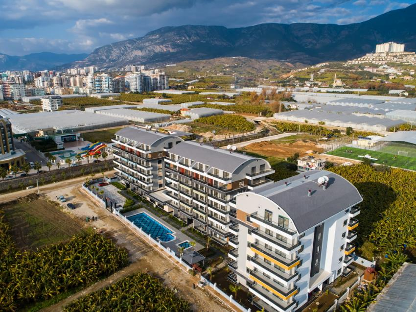 Lux property for sale in a new resıdence in Kargİcak Alanya