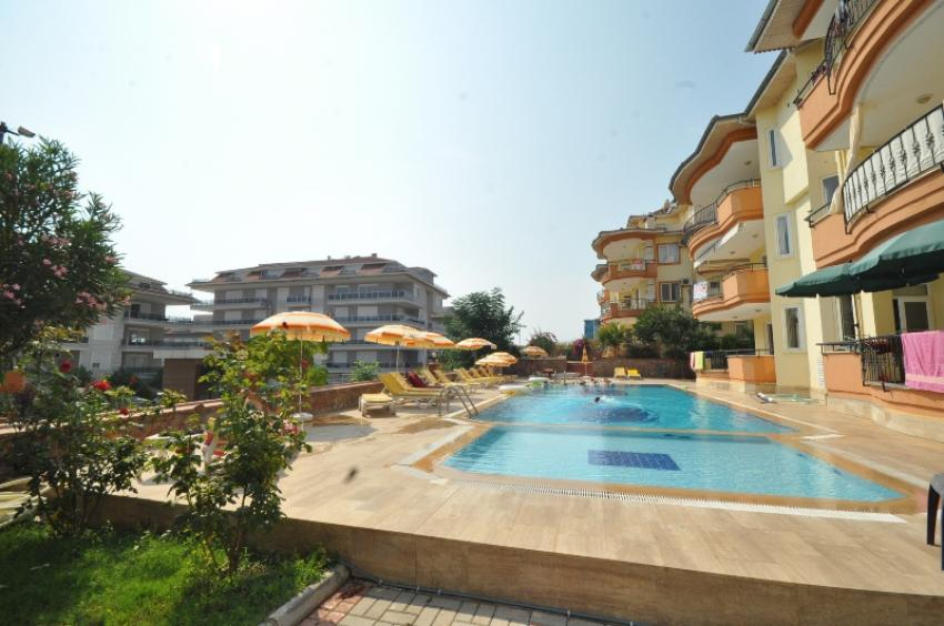 Penthouse in Kestel 4+1 fully furnished