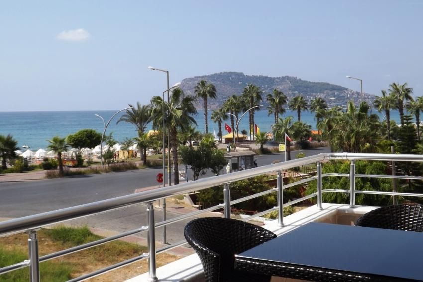 Amazing sea view apartment in Oba, 2+1, fully furnished