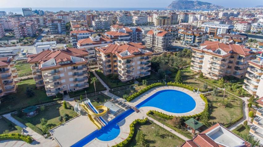 Residence in Alanya Oba 4+1 Penthouse / 2+1 Apartment
