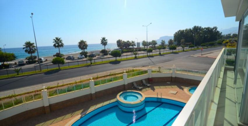 Alanya Apartment For Sale Kestel First Line to Sea