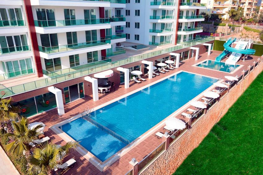 Apartment in Alanya Tosmur, 3+1 penthouse, 180sq.m. fully furnished