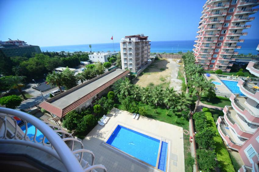 Furnished Penthouse 3+1 with Sea View