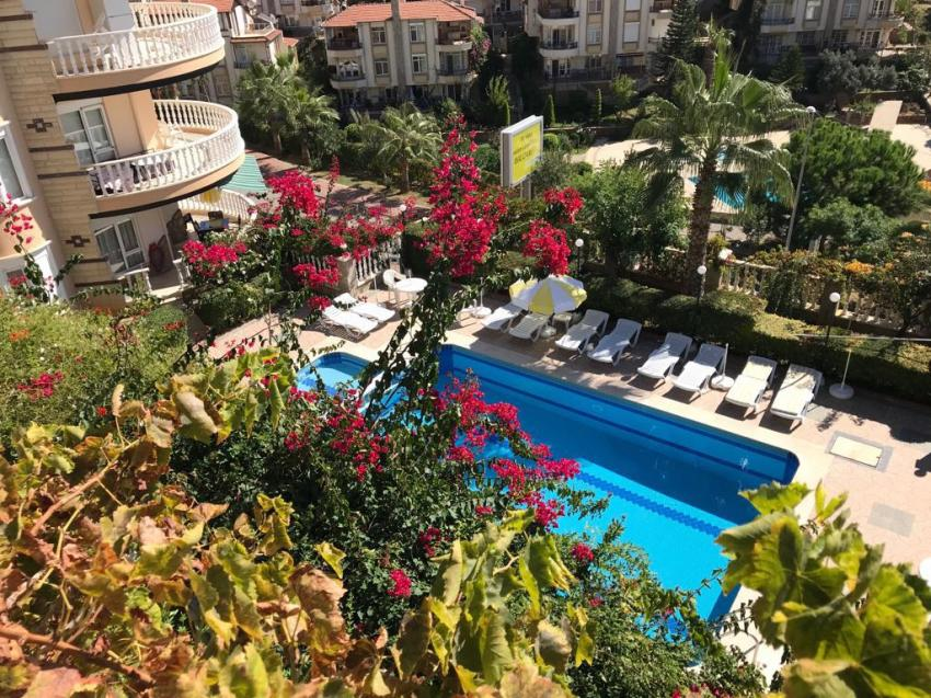 Kestel 2+1 Fully Furnished Garden and Sea View