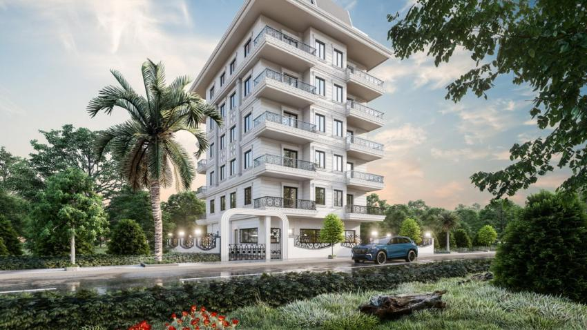 Cheapand nicely designed apartments for sale in mahmutlar