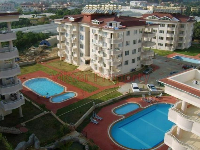 2+1 Apartment in Oba Green Park