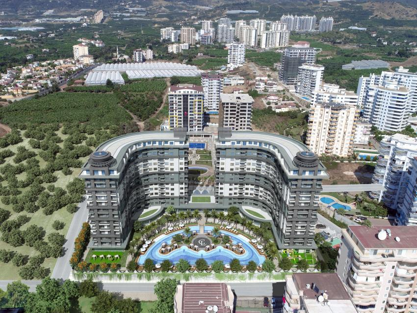 SERENİTY RESİDENCE   1+1 2+1  3+1  penthouse    prices from 49000EURO