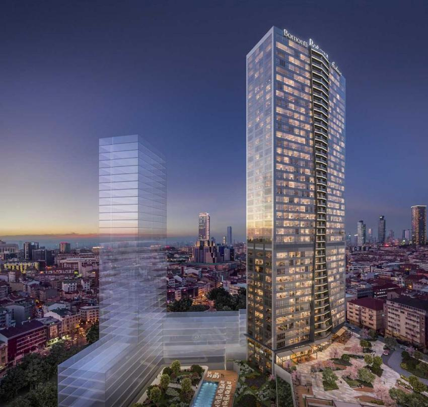 New apartment from construction company for investment in Sisly Istanbul